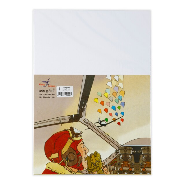 Flying 01 Color Copier Paper A4 200gsm. White 50/Pack