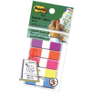 "Flags 0.5""x1.7"" 5 Colors Post-it 683-5CFB"
