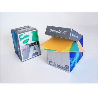 Double A Notepad 80gsm. Asst. Colors 600 Sheets/Pack