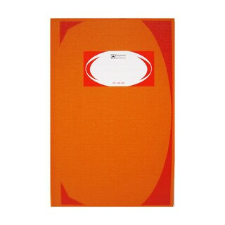 HC-106 Hand Cover Book 70 gsm. Orange Elephant 5/100