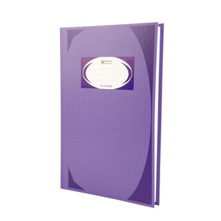HC-105 Hard Cover Book 70 gsm. Purple Elephant 5/100