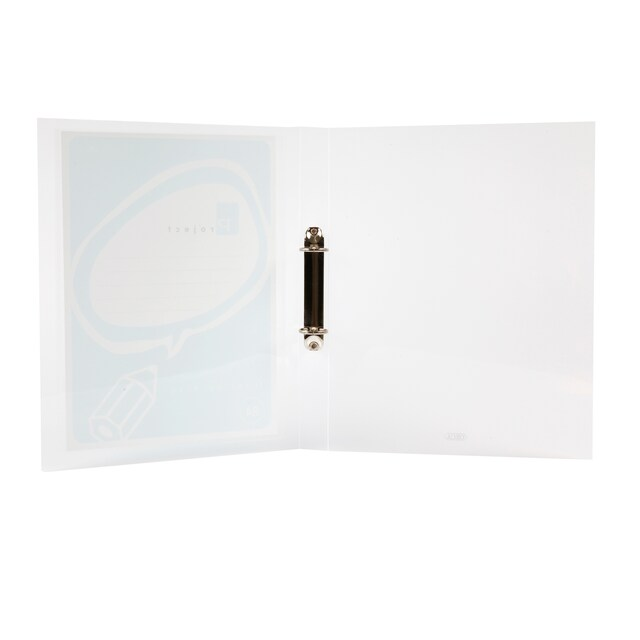 2 Rings Binder A4 1-Inch Spine White ORCA A-991