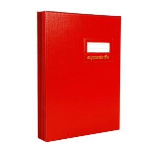 Signatory Book F4 Red Relux S-14
