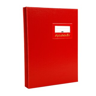 Signatory Book F4 Red Relux S-10