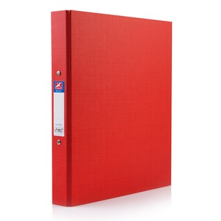Flamingo 222 2 Rings Binder A4 3.5 cm. Spine Red