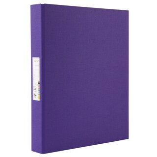 2 Rings Binder A4 3.5 cm. Spine Purple ORCA A-919