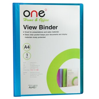 View Binder A4 Blue (20/Book) ONE