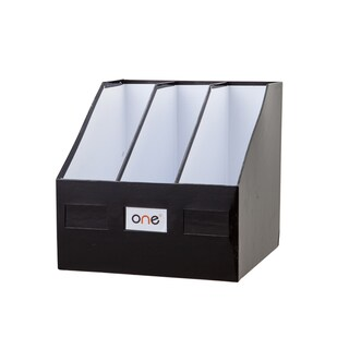 3-Hole Magazine Holder Black ONE