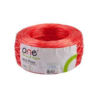 Wire Rope 140 m. Red ONE