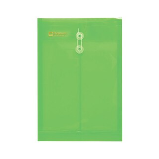 Eyelet Clear Pocket A4 Green (12/Pack) Elephant 435