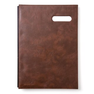 Imperial Signatory Book A4 Brown