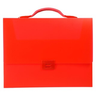 Plastic Carrying Case Red King Jim 282T