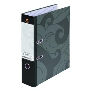 Lever Arch File F4 3-Inch Spine Black Elephant 120