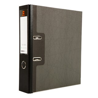 Lever Arch File A4 3-Inch Spine Black Elephant 112