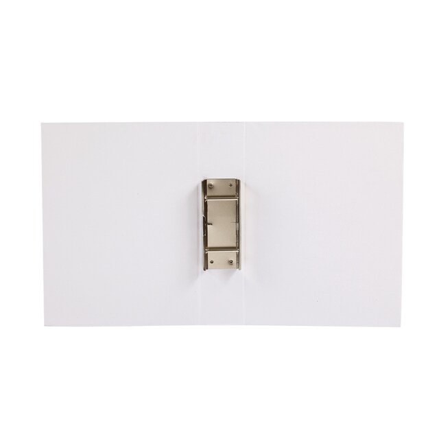 Butterfly 50-2S Spring Clip File A4 5 cm. Spine White