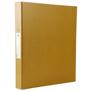 Elephant 221 2 Rings Binder A4 3.5 cm. Spine Gold