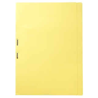 File Folder With Fastener F/C Yellow Baipo 403
