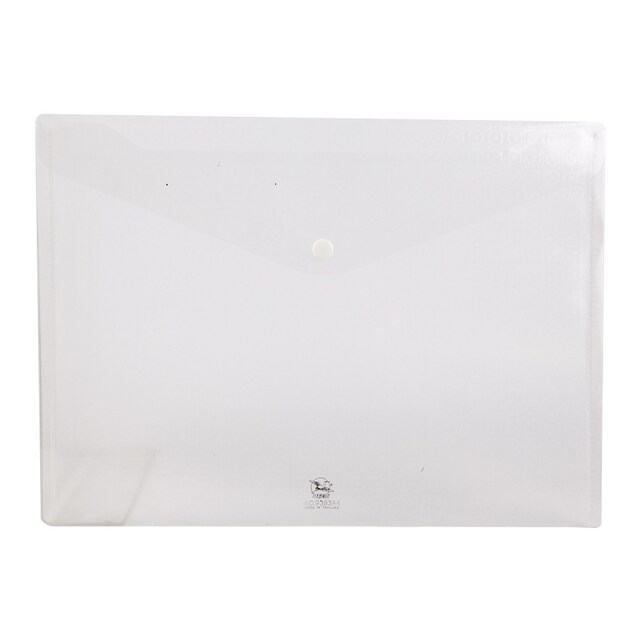 Plastic Envelope A4 White Flamingo 9383