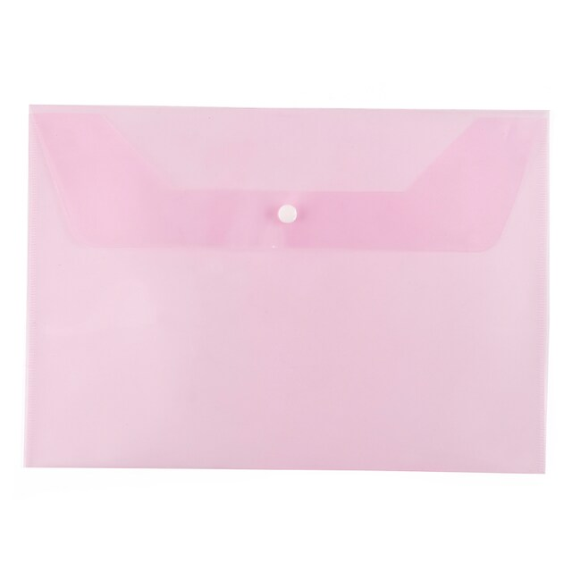 Plastic Envelope F4 Pink ORCA F-120