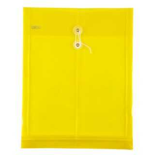 Plastic Envelope A4 Yellow ออร์ก้า