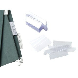 Plastic Index for Suspension File (50/Pack) ใบโพธิ์