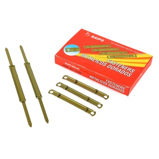 Baipo Golden Metal Fasteners 50/Box
