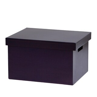 Suspension File Box with Cap Blue วินด์เซิฟ