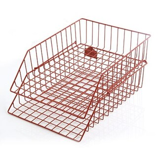 2 Tires Wire Document Tray Robin 402