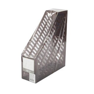 Magazine Holder Clear Gray ORCA BF-93
