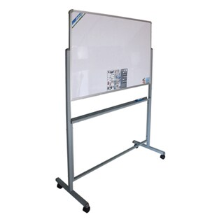 2-Sided Magnetic Whiteboard+Stand 90x150 cm. VICTORY
