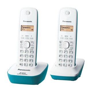 Cordless Phones Blue (2Pcs.) Panasonic KX-TG3412BXC