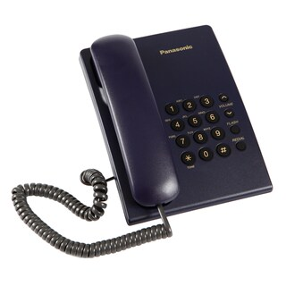 Telephone Navy Blue Panasonic KX-TS500MX