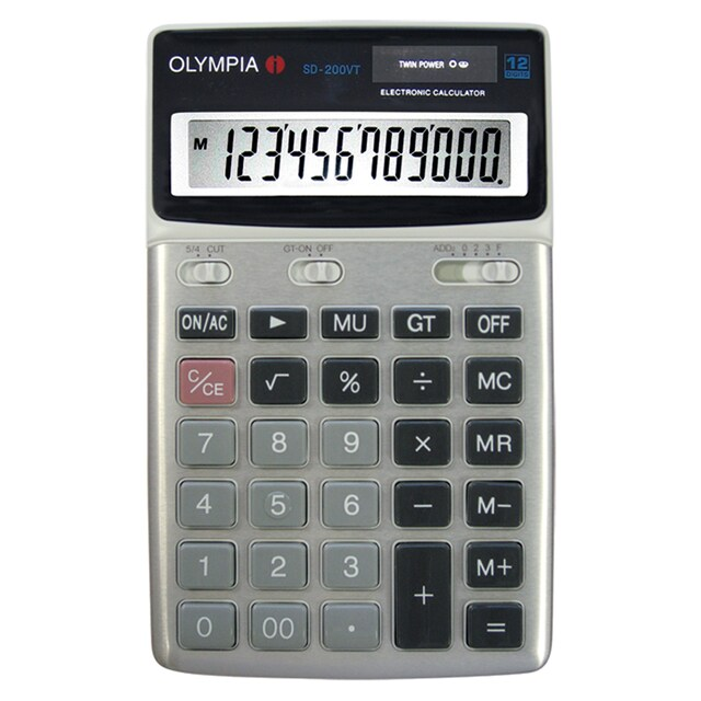 Olympia 200VT Calculator 2/Pack