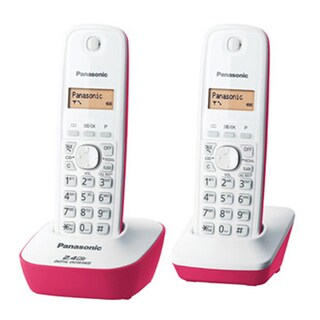 Panasonic KX-TG3412BXP Cordless Telephone Pink 2Pcs.