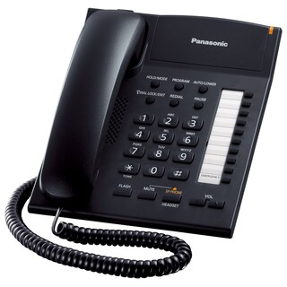 Telephone Black Panasonic KX-TS840MX