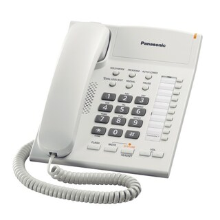 Telephone White Panasonic KX-TS840MX