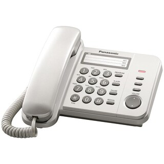Telephone White Panasonic KX-TS520MX