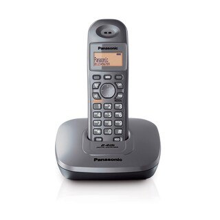 Cordless Phone Metallic Panasonic KX-TG3611BXM