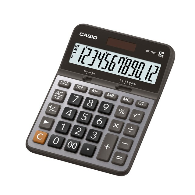 Calculator Silver Casio DX-120B