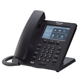 IP Phone Black Panasonic KX-HDV330XB