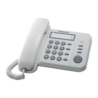 Telephone White Panasonic KX-TS520MXW