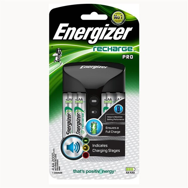 Charger Energizer CHPRO+4AA