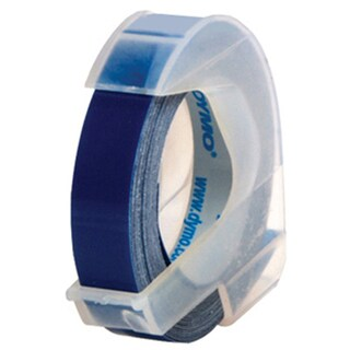 Tape Alphabet Pump 9 mm. x 3 m. Blue ไดโม
