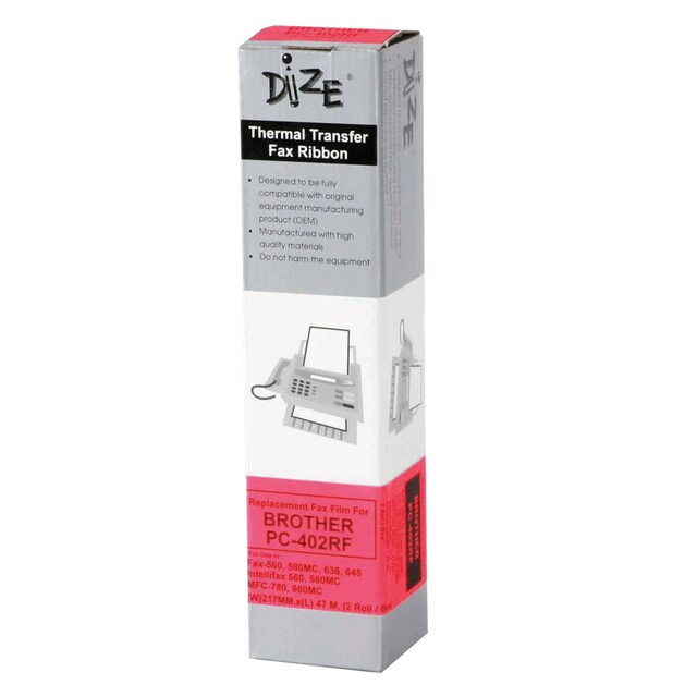 Dize Fax Film for Brother PC402RF 47m.