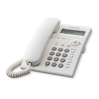 Telephone White Panasonic KX-TSC11MX