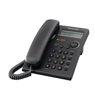 Telephone Black Panasonic KX-TSC11MX