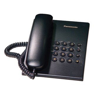 Telephone Black Panasonic KX-TS500MXB