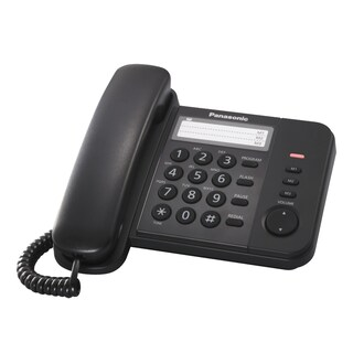 Telephone Black Panasonic KX-TS520MX
