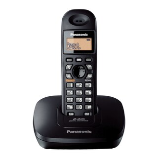 Cordless Telephone Black Panasonic KX-TG3611BXB