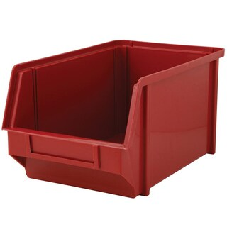 Plastic Tool Storage Carton Red Basket 55 Copo